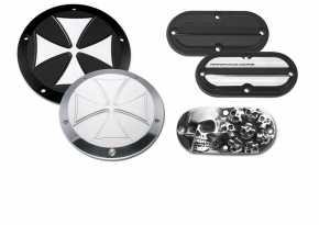 Custom Chrome Kupplungs- & Inspektionsdeckel