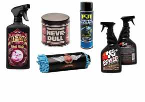 Custom-Chrome Cleaning Products