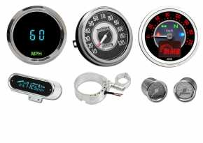 Custom-Chrome Speedometers