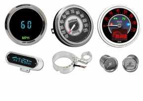 Custom Chrome Tachometer & Zubehör