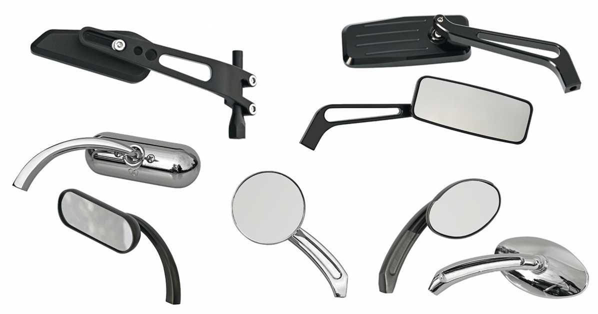 chopper spiegel motorradspiegel online kaufen bei thunderbike harley davidson. Black Bedroom Furniture Sets. Home Design Ideas