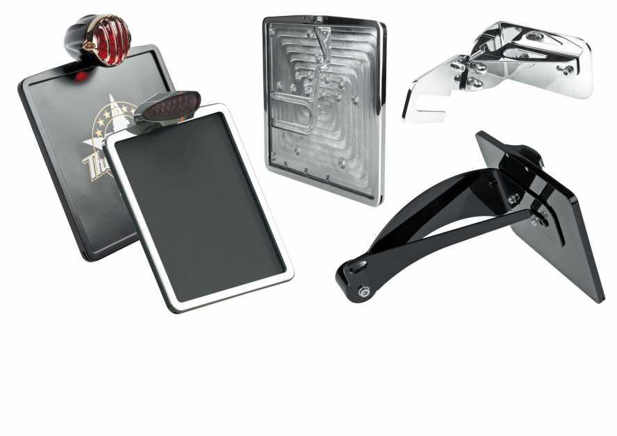 Thunderbike seitliche Kennzeichenhalter & Platten für Motorräder