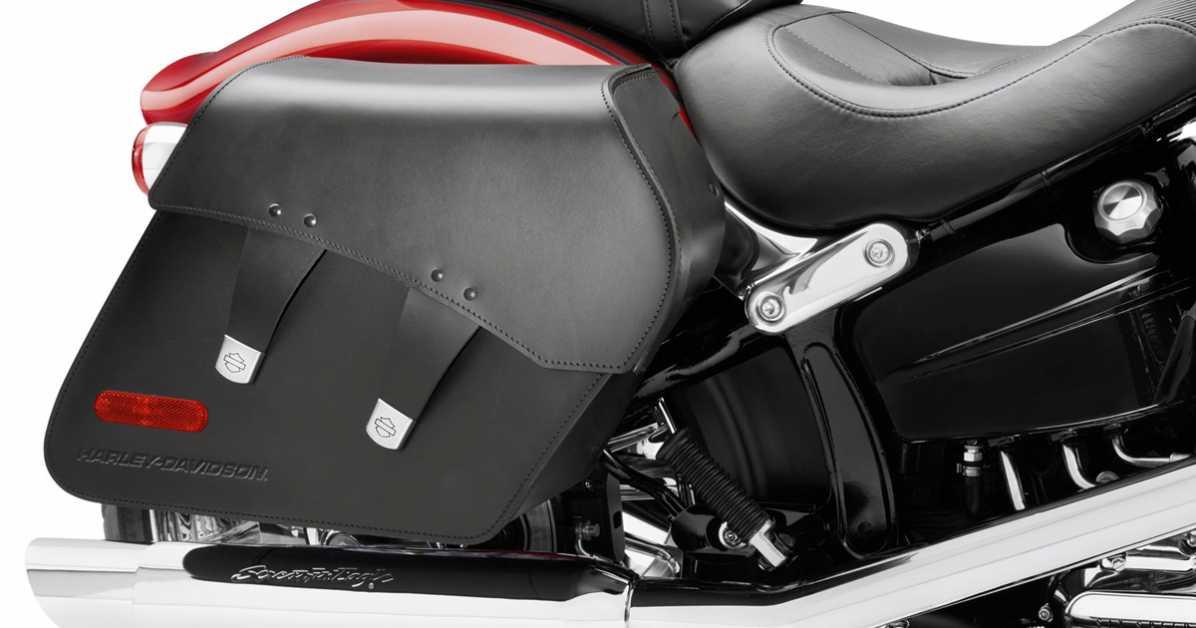 Harley-Davidson Softail Satteltaschen im Thunderbike Shop