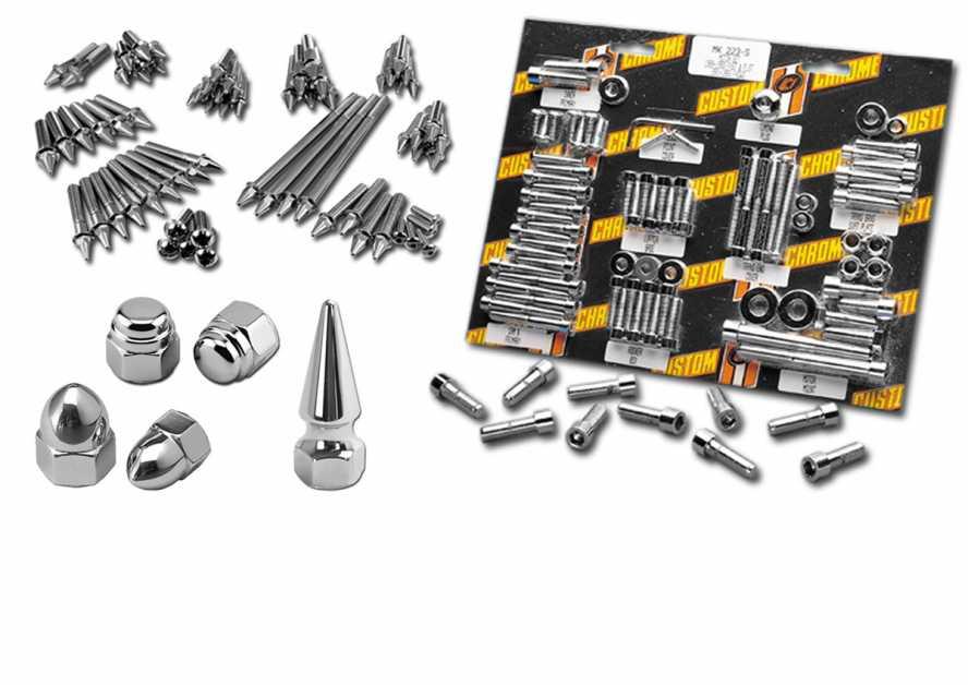 Harley Softail Edelstahl Inbus Schrauben Kit Motor Getriebe Primär Deckel 07-17
