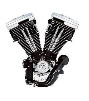 Harley-Davidson 1340cc Evolution Engine (Silver & Chrome)