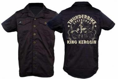 "Thunderbike Button-Shirt ""Pin Up"""