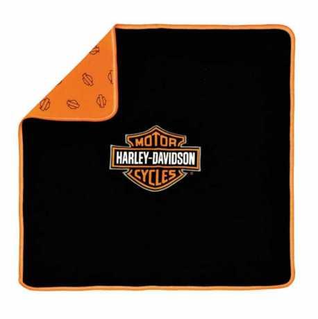 H-D Motorclothes Harley-Davidson Baby Boy's Receiving Blanket Bar & Shield  - 0150096