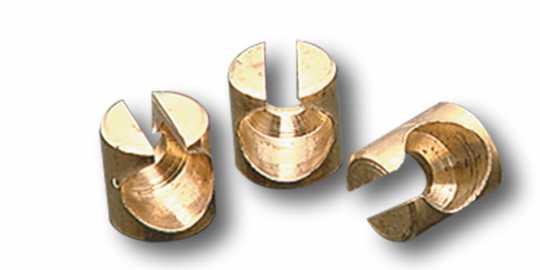 Custom Chrome Gaszug Nippelhalter  - 04-0740