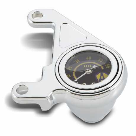 Arlen Ness Arlen Ness Radius Öldruckmanometer Kit chrom  - 05-889