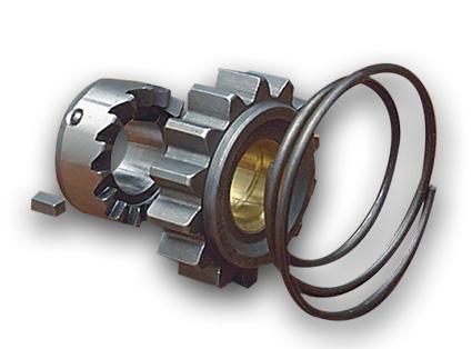 Custom Chrome Kick Starter Ratchet Gear Kit 16 Teeth  - 05-0071