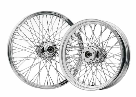 DNA DNA Speichenrad 40 Spoke 9x2.15 chrome  - 07-306