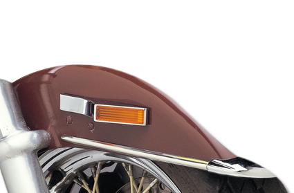 Custom Chrome Mirage Marker Lite  - 09-110V