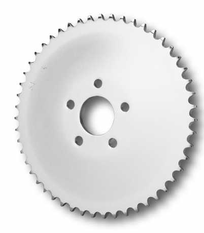 Rear Sprocket, Chrome, Flat, 48 Tooth