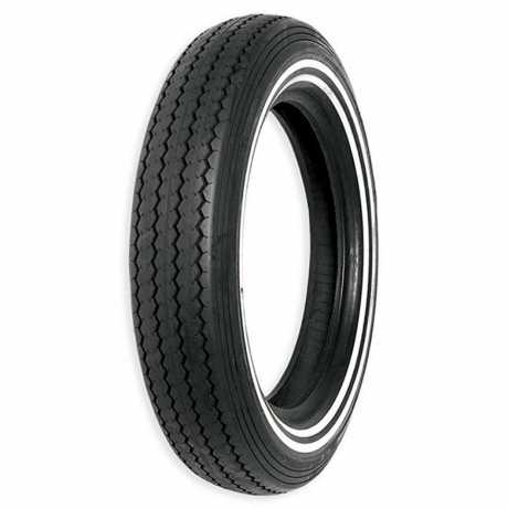 Shinko Shinko Classic tube tyre MT90-16 74H, E-240 double white wall  - 11-50112