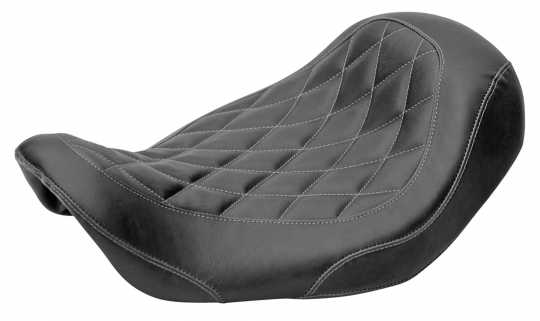 Mustang Mustang Wide Tripper Solo Seat Diamond black  - 11-75-120
