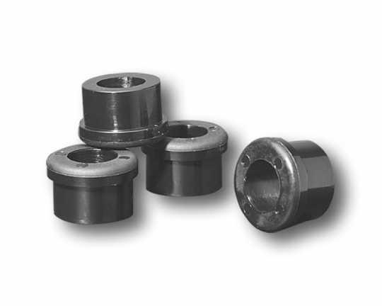 Custom Chrome Polyurethane Damper Bushings (4)  - 11-0088