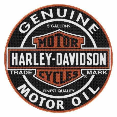 H-D Motorclothes Harley-Davidson runder Teppich Genuine Bar & Shield  - 117362