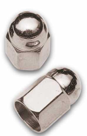 Barnett Acorn Style Valve Stem Covers, Chrome  - 11-864