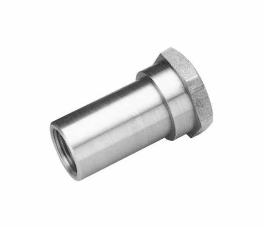 Custom Chrome Nut Compensating Sprocket  - 12-112