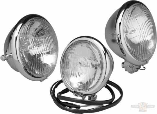 "Custom Chrome Headlight Outer Ring 5 3/4"" chrome  - 12-960"