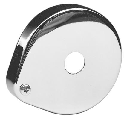 Custom Chrome Kickerfeder Blende chrom  - 12-250