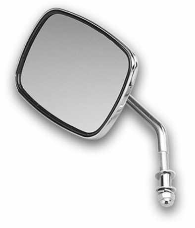 Custom Chrome Custom Chrome Spiegel mit kurzem Halter links chrom  - 12-370