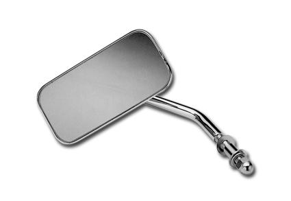 Custom Chrome Custom Chrome Mirror Rectangular 5 x 11 cm  - 12-393V