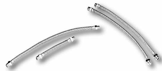Custom Chrome Oil Lines-Rocker Arm  - 12-427