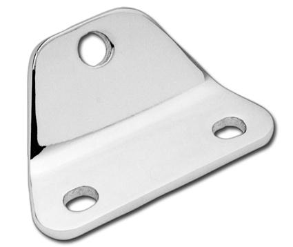 Custom Chrome Headlight Mount Bracket  - 12-536