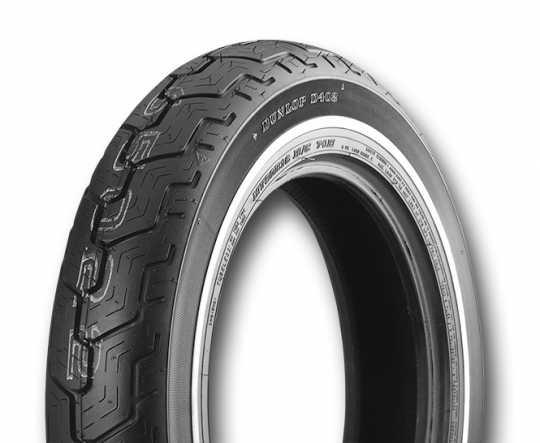 """Dunlop Dunlop Reifen D402 MU85HB x 16"""" Weißwand, schmal, hinten  - 13-62333"""