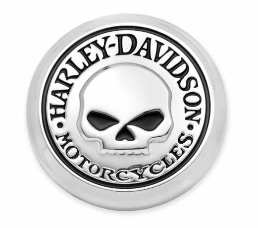 Harley-Davidson Willie G. Skull Fender Skirt Medallions  - 14100749
