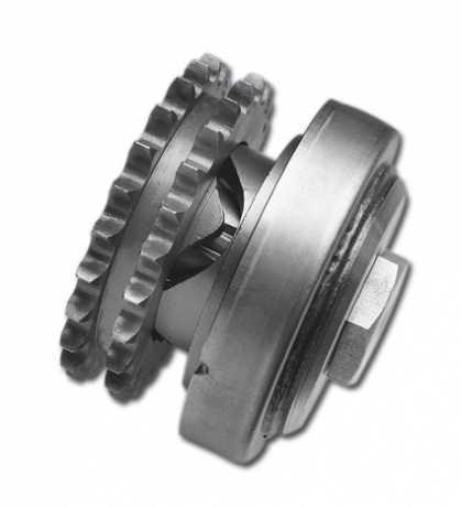 Custom Chrome Ruckdämpfer Kit 25 Zähne  - 14-241