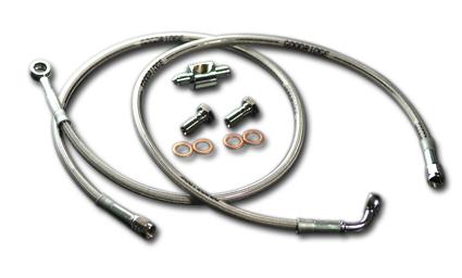 """Goodridge Goodridge OEM Style Bremsleitung Stahlflex vorne 47,75""""  - 61-4652"""