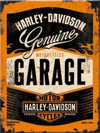 H-D Motorclothes Harley-Davidson Magnet Garage  - 14332