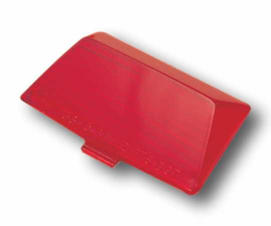 Stock replacement red lens, rear  - 15-096
