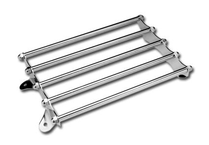 Custom Chrome Classic Luggage Rack, chrome  - 15-337