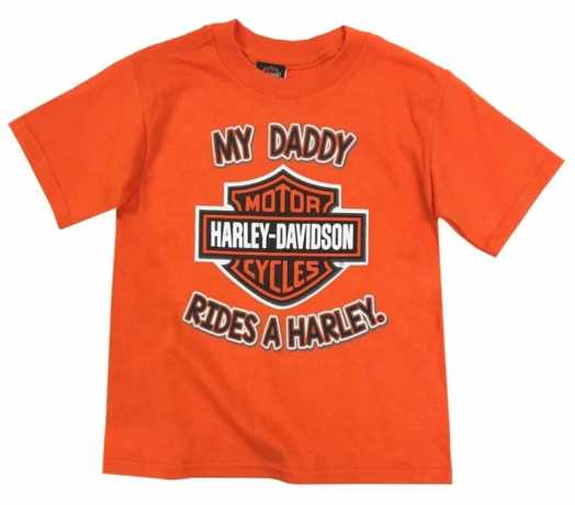 H-D Motorclothes Harley-Davidson Kids T-Shirt My Daddy rides a Harley  - 1570937V
