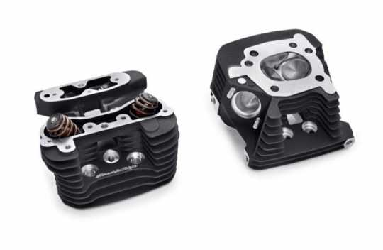 Harley-Davidson Screamin Eagle Pro CNC Ported Factory Zylinderköpfe, schwarz, highlighted  - 16500164
