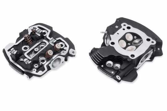 Harley-Davidson Screamin Eagle CNC Ported Zylinderköpfe, Black Granite  - 16500538