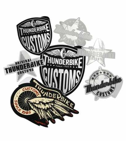 Thunderbike Clothing Thunderbike Aufkleber Set  - 17-99-050