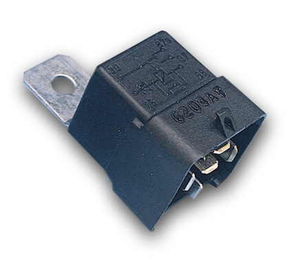 Standard Motorcycle Products Starter Relay with Skirt  - 17-059