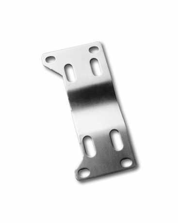 "Custom Chrome Transmission Mounting Plate 1"" Offset, steel raw  - 17-286"