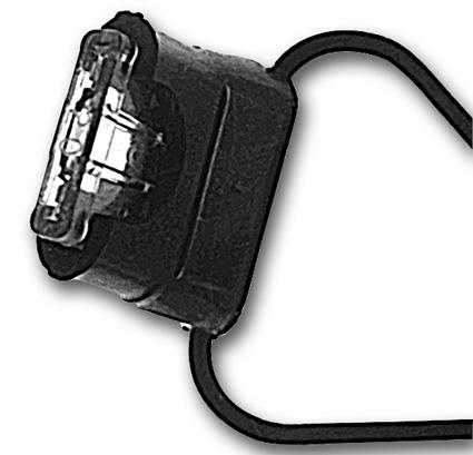 """Standard Motorcycle Products Standard Sicherung mit Halter und 4"""" Kabel  - 17-702"""