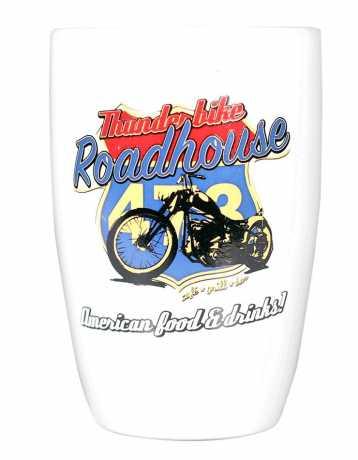 Thunderbike Clothing Thunderbike Roadhouse Kaffeepott, weiß  - 18-99-025