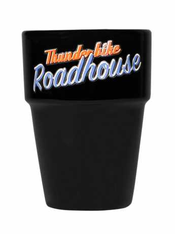 Thunderbike Clothing Thunderbike Roadhouse Kaffeebecher, schwarz  - 18-99-035