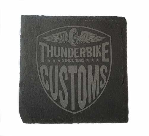 Thunderbike Clothing Thunderbike Untersetzer Schiefer New Custom  - 18-99-240