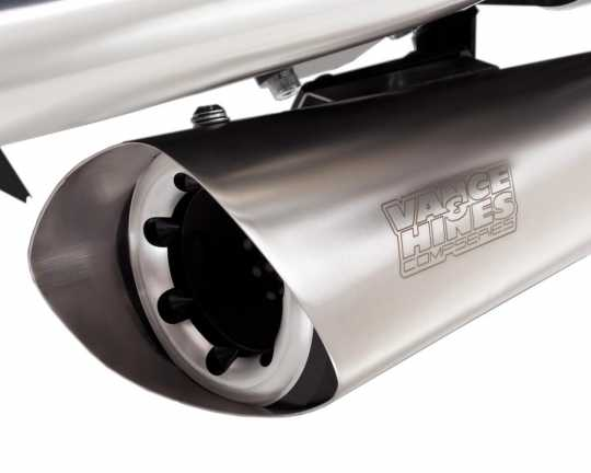 Vance & Hines Vance & Hines Competition 2-into-1 brushed  - 18001496