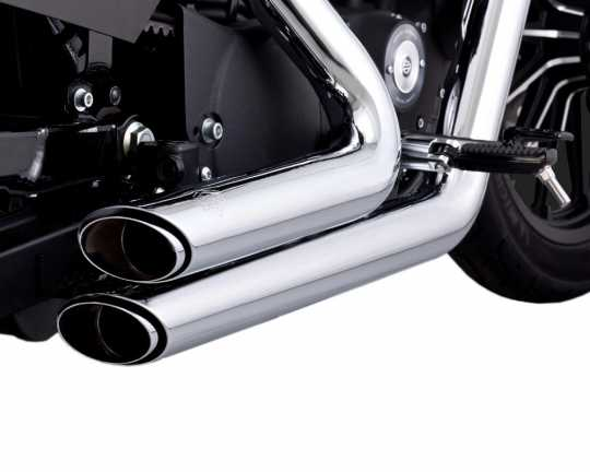 Vance & Hines Vance & Hines Shortshots Staggered, chrome  - 18001632