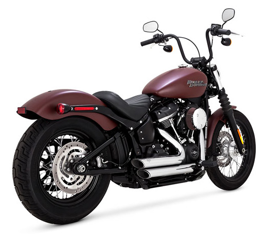 Vance & Hines Vance & Hines Shortshots Staggered chrome  - 18002236