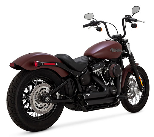 Vance & Hines Shortshots Staggered schwarz